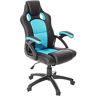 Charles Jacobs Executive Racing Style Gaming Chair Office High Back Support with Tilt Lock Mechanism - Choice of Colours (B00NT251VE) | Amazon price tracker / tracking, Amazon price history charts, Amazon price watches, Amazon price drop alerts