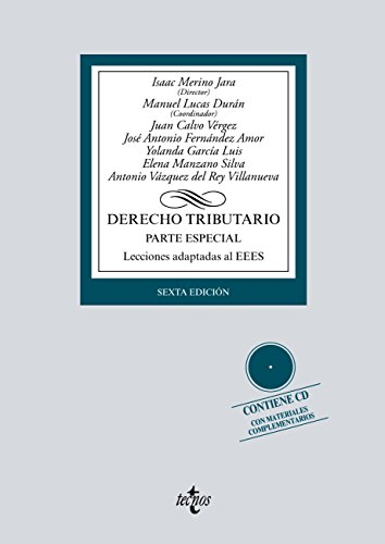 Derecho tributario (Derecho - Biblioteca Universitaria De Editorial Tecnos) por Isaac Merino  Jara
