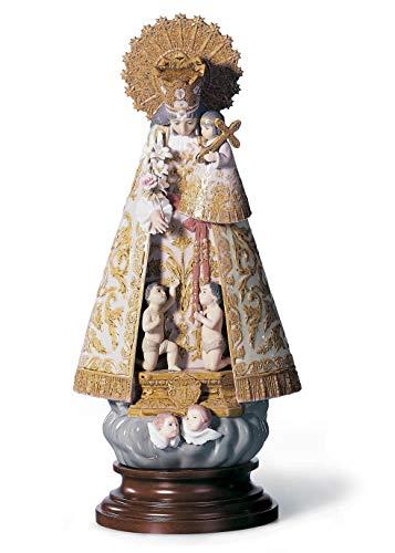 LLADRÓ Figura Virgen de los Desamparados. Serie Numerada. Virgen María de Porcelana