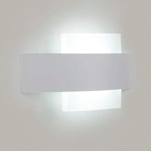 WW Kreative Art und Weise führte Nachttisch-Wandlampe runde warme Schlafzimmer-Wand-Lampen-moderne Gang-Acryllampen