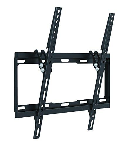 Soporte de montaje en pared Part King® con inclinación para televisión con ajuste delgado de 300x300 400x200 400x300 o 400x400 VESA