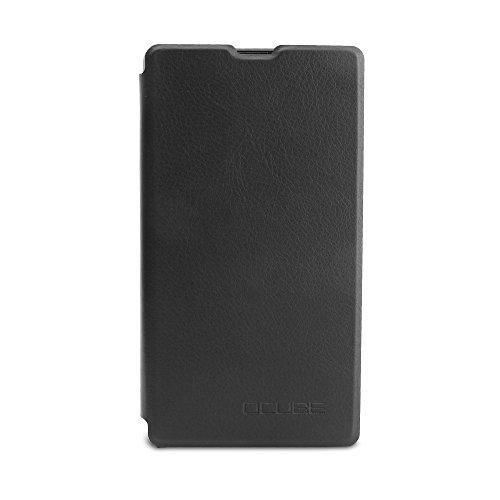 Handyhülle für Bluboo S1 95street Schutzhülle Book Case für Bluboo S1, Hülle Klapphülle Tasche im Retro Design mit Praktischer Aufstellfunktion - Etui Schwarz