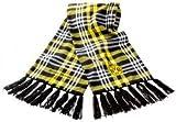 BVB Herren Schal Kariert, schwarz/weiß/gelb, One size, 2466630