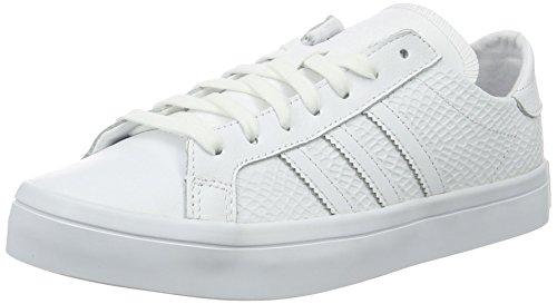 adidas Courtvantage W, Scarpe da Ginnastica Basse Donna, Bianco (Ftwr White/Ftwr White/Core Black), 37 1/3 EU