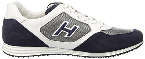 Hogan Hxm205u670e4u873g, Sneakers basses homme Multicolore (Fumo/Biro)
