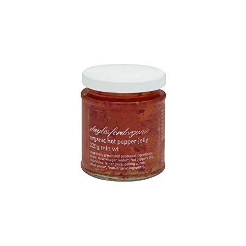 Daylesford Organic Hot Pepper Jelly (220g) - Packung mit 2