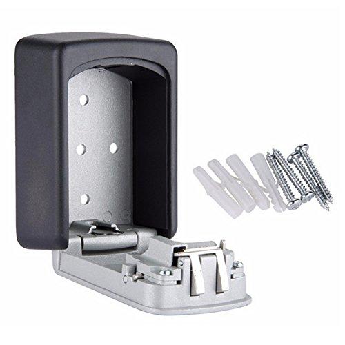 Blue Vessel Key Storage Lock Box Wandhalterung 4 Digit Combination Safe Outdoor Security (Key Lock-boxen Storage)