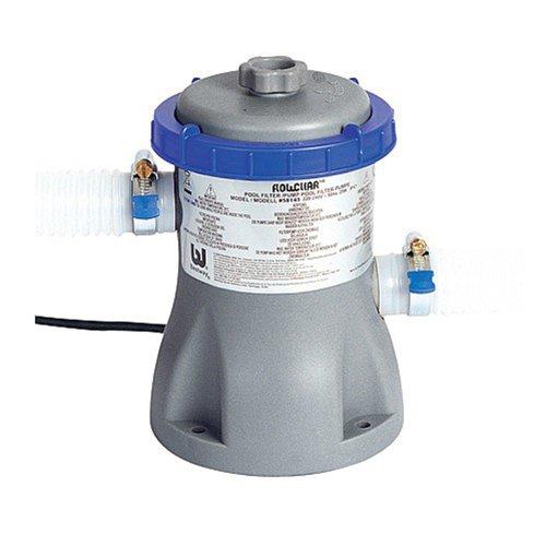 Bestway - Pompe de filtration Flowclear 1250 litres/heures avec cartouche compatible piscines jusqu'à 365 cm