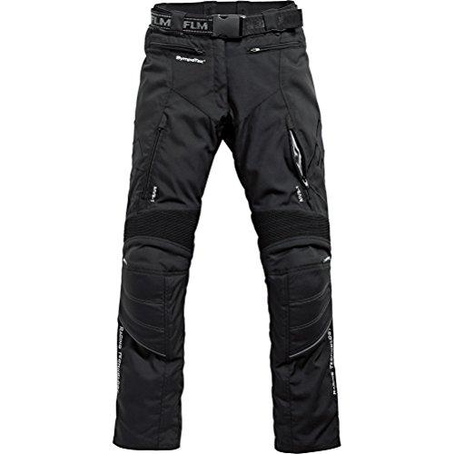 Motorradhose FLM Sports Damen Textilhose 2.0 schwarz 44
