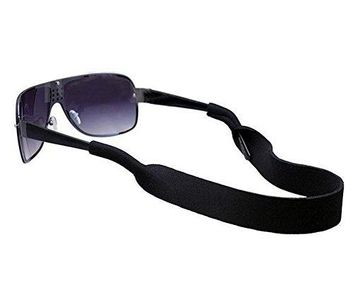 Sport Unisex Neopren Gläser Kordel Gummiband Eyewear Sonnenbrille Halterung schwarz für Damen und Herren