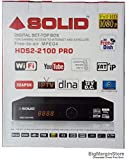 SOLID HDS2-2100Pro Full HD DVB-S2 Set-Top Box with Mobile Wireless Display and SATIP