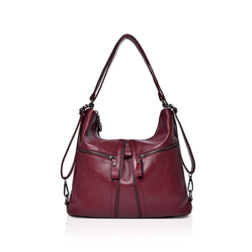 654e547b7ca1fb NICOLE & DORIS Big Sale Womens PU Leather Vintage Shoulder Bag Ladies  Bolsos Tote Fashion Purse
