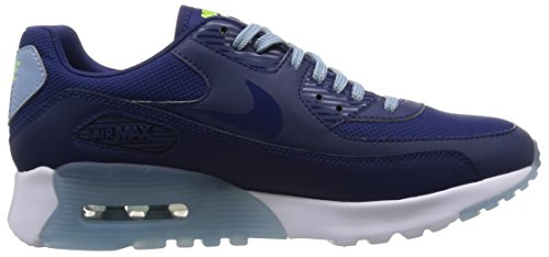 Nike W Air Max 90 Ultra Essential, Chaussures de Sport Mixte Adulte, Bleu Bleu