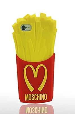 Pommes de terre frites Coque de protection Silicone Case pour Apple iPhone 5 5S