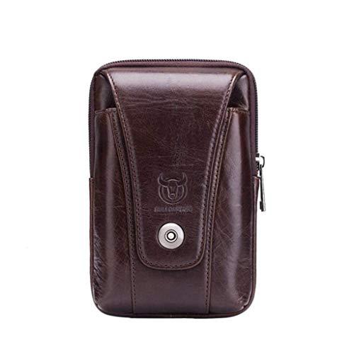 Tasche Gürtelschnalle Tasche Leder Tabak Tasche Gürtel, Outdoor Reise Wandern Camping Wandern Tasche ()