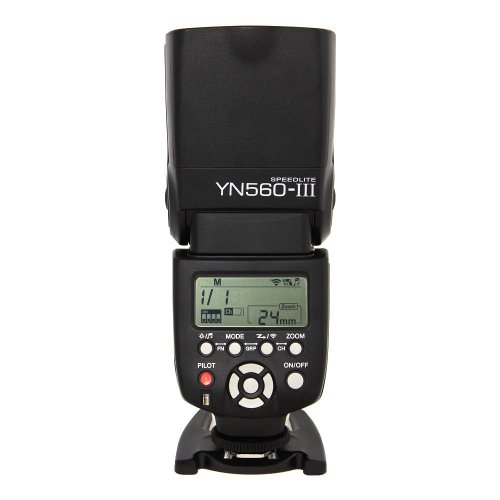 Yongnuo YN-560 Mark III - Systemblitz mit integriertem Funkauslöser zur Auslösung mit Yongnuo RF-602 oder RF-603 LF242