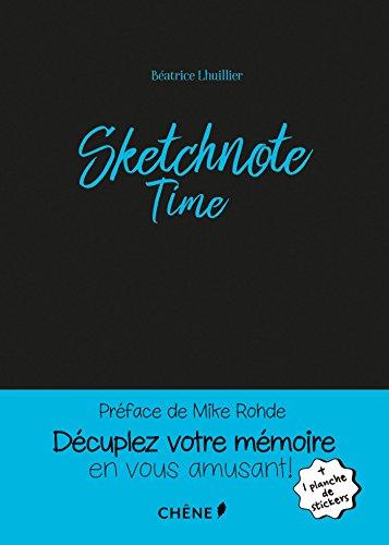 Sketchnote Time par Béatrice Lhuillier