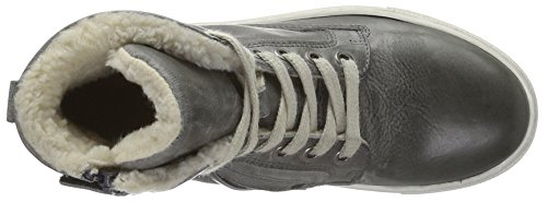HIP H2538, Baskets hautes  garçon Gris - Grau (15CO)