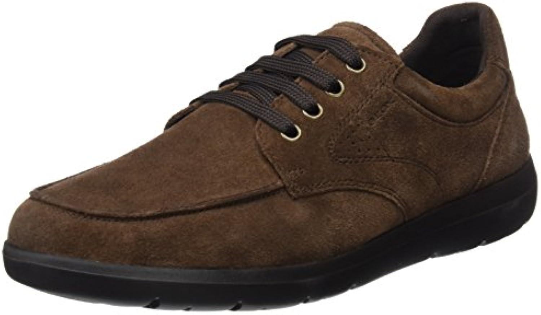 Geox U743QB00022, Zapatos de Cordones Hombre