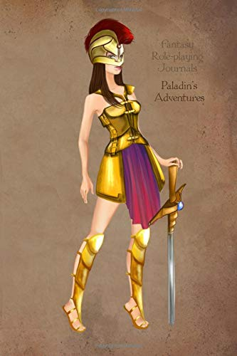 Fantasy Role-playing Journals Paladin's Adventures: Soft Cover Notebook for Players or Dungeon Masters with 120 Lined Pages for Tabletop Gaming por Lanata Hunter