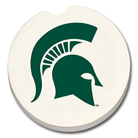NCAA Michigan State Spartans Absorbent Car Coaster by CounterArt