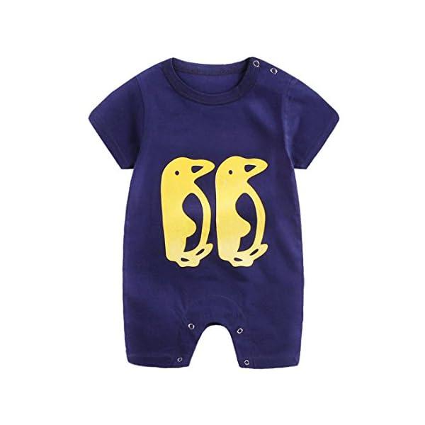 Zolimx Baby Clothes Newborn Infant Boy Girl Cartoon Romper Cute Jumpsuit Climbing Clothes