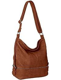 CASPAR TS732 große Damen Umhänge Tasche