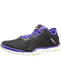 014865685d10 Reebok Zquick TR Lux Femmes Noir Chaussures Baskets de Sport EU 42