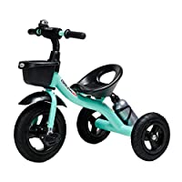 BABYGAMK Children Toddler Tricycle Kids Tricycles Trike for Age 2/3/4/5/6 Years Old Children, 3 Wheeler Bike Pedal Ride On for Boys Girls Toddler (Color : Blue , Size : Onesize )