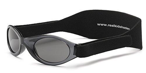 Real Kids 024BLACK My First Shades Babysonnenbrille, Größe 0-2 Jahre, schwarz