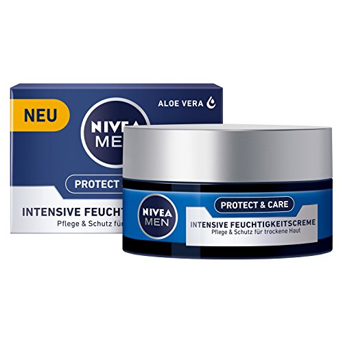 Nivea Men Protect & Care Intensive Feuchtigkeitscreme, 3er Pack (3 x 50 ml)