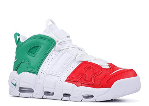 new style d396d 70e71 Nike Herren Air More Uptempo  96 Italy Qs Fitnessschuhe, Mehrfarbig  (University Red