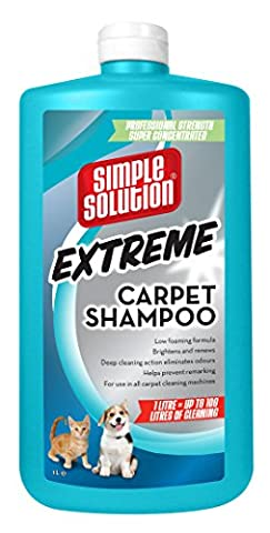 Simple Solution Extreme Carpet shampoo for Pet Stains & Odours - 1 Litre
