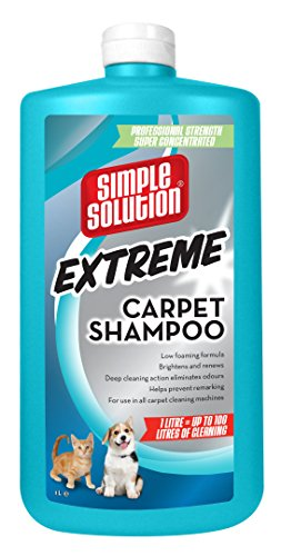 Simple Solution Extreme Carpet Shampoo Pet Stain and Odour Remover, 1 L