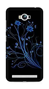 Amez designer printed 3d premium high quality back case cover for Asus Zenfone Max ZC550KL (Abstract Dark 2)