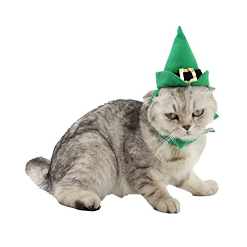 Zhhlaixing Haustierprodukt Elastic Pet Cosplay Dogs Cats Soft Halloween Cute Costume Fancy Dress Hat Hat & Neckwear (Dog Fancy Halloween Dress)