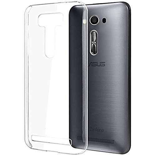 Heartly Ultra Thin 0.3mm Clear Transparent Flexible Soft TPU Slim Back Case Cover For Asus Zenfone 2 Laser ZE500KL 5 inch  available at amazon for Rs.110