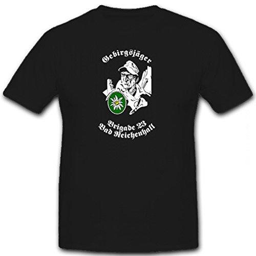 Gebirgsjäger Brigade 23 Bad Reichenhall Deutschland - T Shirt Herren #12418