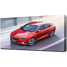 2018 Opel Insignia GSi V5 - Reproducción Lienzo - Arte Enmarcado Impresión ...