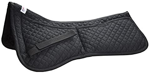 Derby Correction Half Saddle Pad with Removable Memory Foams