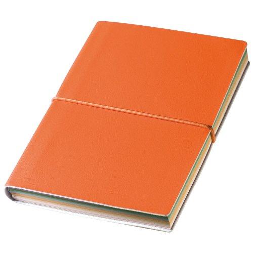 Libretto Notizbuch Notebook Softcover Seiten farbige Verschluss mit Gummizug -