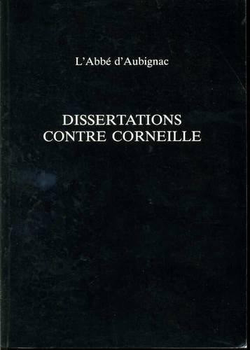Dissertations contre Corneille