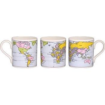 Educational Mugs - Map of the World