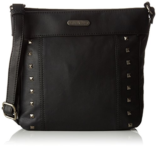 Little Marcel femme Do05 Sac bandouliere Noir (Black)