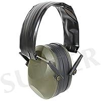 Sutter Protección auditiva, Negro * Cascos Protectores de oído Protector auditivo * Ideal para Tirar y Cazar
