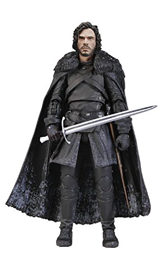 Funko 3908 Game of Thrones Toy - Jon Snow Deluxe Collectable Action Figure - Knights Watch 3