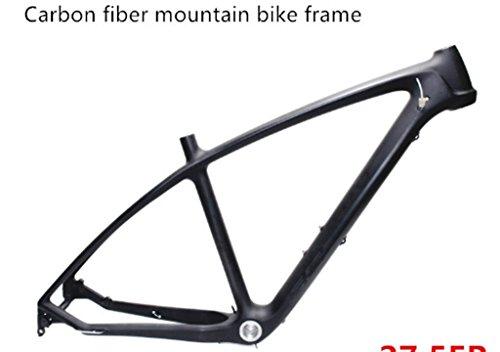 Mountainbike Radspor Rahmen Carbon Rahmen Mountain Bike Carbon MTB Radsport Fahrradrahmen Carbon Bike Frame 17 Zoll