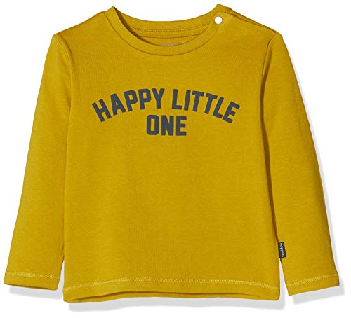 Noppies Baby-Jungen B Tee Regular ls Appleton T-Shirt, Braun (Dried Tobacco P239), (Herstellergröße: 80)