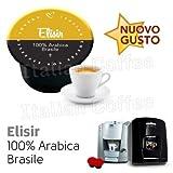 Lavazza Blue e in black nims compatibili 50 CAPSULE caffè ARABICA Brasile Italian coffee Elisir