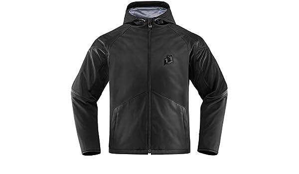 Merc Stealth Jacket Black X-Large 2820-3865/ /Icon 28203865